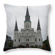 Basilica 2 Throw Pillow