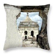 Basilica Catedral De La Asuncion 1747 Leon Nicaragua 003 Throw Pillow