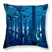 Basilica Cistern - Istanbul - Turkey Throw Pillow