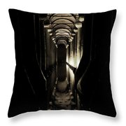 Basilica Cistern Throw Pillow