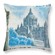 Basilica Lisieux Throw Pillow