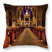 Basilica Of Saint Mary Throw Pillow