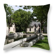Basin In The Castle Yard Throw Pillow