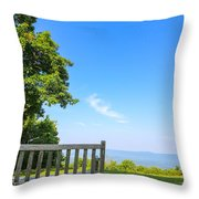 Bask In Beauty Throw Pillow