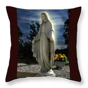 Bask In His Glory 01 Throw Pillow