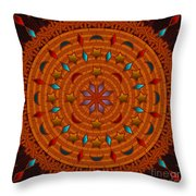 Basket Weaving 2012 Throw Pillow