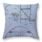 Basketball Hoop Throw Pillow