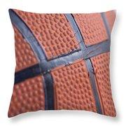 Basketball Study 4 Throw Pillow