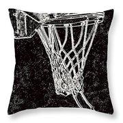 Basketball Years Throw Pillow