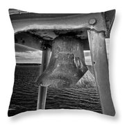 Bass Head Lighthouse Bell Throw Pillow