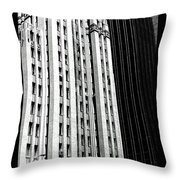Bassett Tower By Henry C Trost Throw Pillow