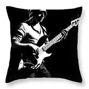 Bassist Throw Pillow