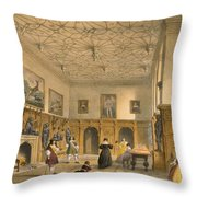 Bat Game In The Grand Hall, Parham Throw Pillow