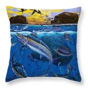 Bat Island Off00139 Throw Pillow