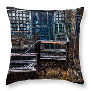 Bates Mill No 5 Throw Pillow