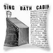 Bath Cabinet, 1897 Throw Pillow