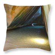 Bath Cave Throw Pillow