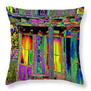 Bath House Pop Art Throw Pillow