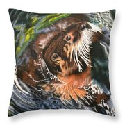 Bath Time Throw Pillow