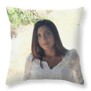 Bathed In Sunshine Throw Pillow