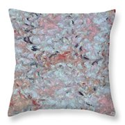 Batik-marble Throw Pillow