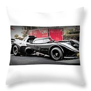 Batmobile Throw Pillow