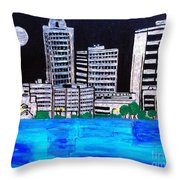 Baton Rouge La  Throw Pillow