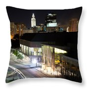 Baton Rouge River Center Throw Pillow