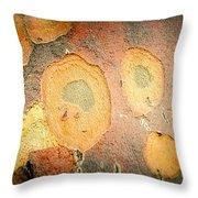 Battered Not Beaten Throw Pillow