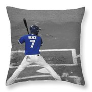 Batters Up Throw Pillow