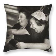 Battersea Fun Fair London Throw Pillow