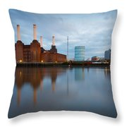 Battersea Power Plant. Throw Pillow