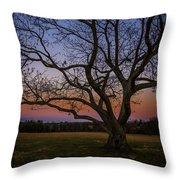 Battery Heights Sunset Throw Pillow