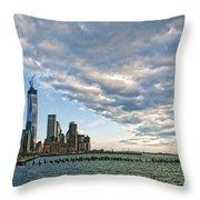 Battery Park City 2013 Throw Pillow