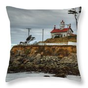 Battery Point Lighthouse 1 B Throw Pillow