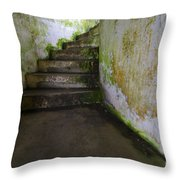 Battery Russell Oregon 3 Throw Pillow