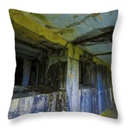 Battery Russell Oregon 4 Throw Pillow