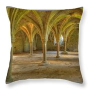 Battle Abbey Cloisters Throw Pillow