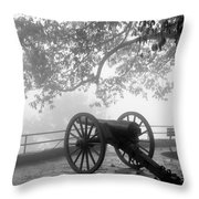 Battle Above The Clouds Revisited Throw Pillow