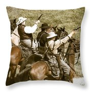 Battle Charge Throw Pillow