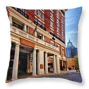 Battle House Throw Pillow