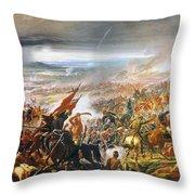 Battle Of Avay Throw Pillow