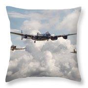 Battle Of Britain - Memorial Flight Throw Pillow