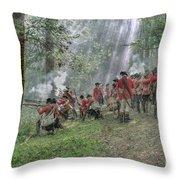 Battle Of Bushy Run 2010 Throw Pillow
