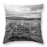 Battle Of Culloden Throw Pillow