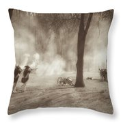 Battle Of Guilford Court House Throw Pillow