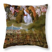 Battle Of Lepanto Throw Pillow