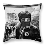 Battle Of The Bogside Mural II Throw Pillow