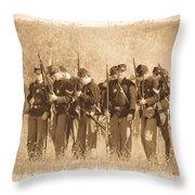 Battle Ready Throw Pillow