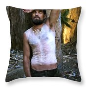 Battlefield Earth X Arrows Of Fire Color Throw Pillow